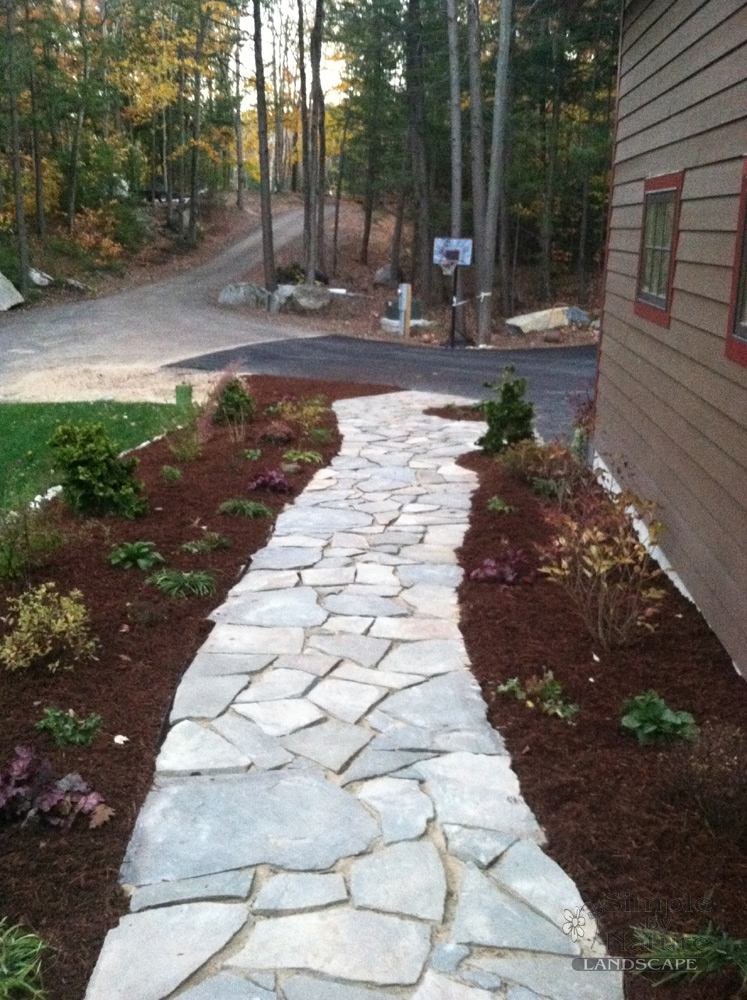 We Build Stone Walkways Simple By Nature Landscape