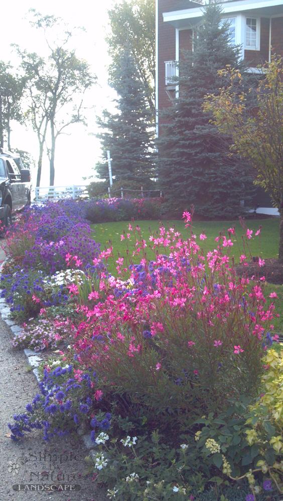 Flower Garden Design Simple By Nature Lanscape