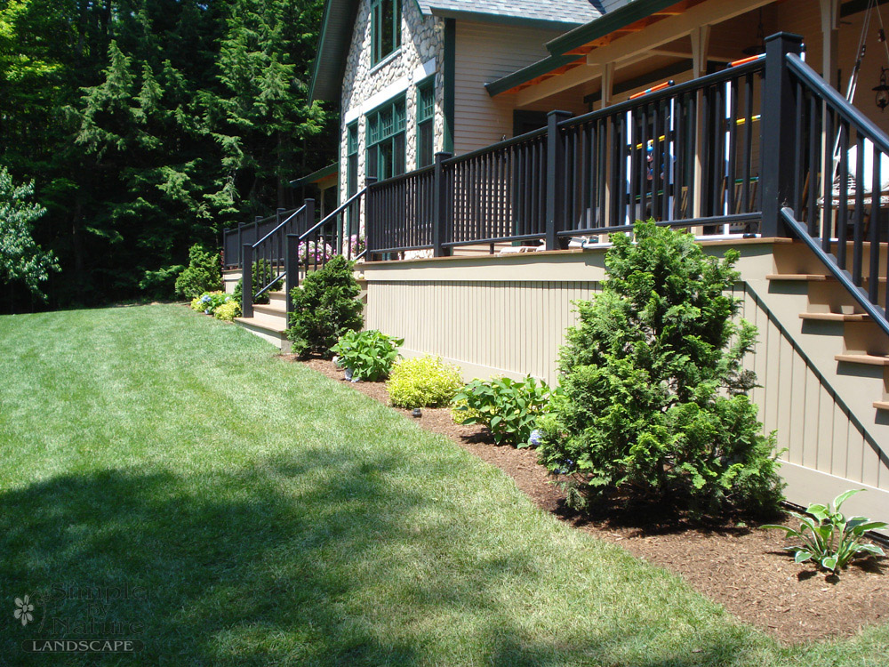 Residential landscape projects simple by nature landscape for Residential landscaping
