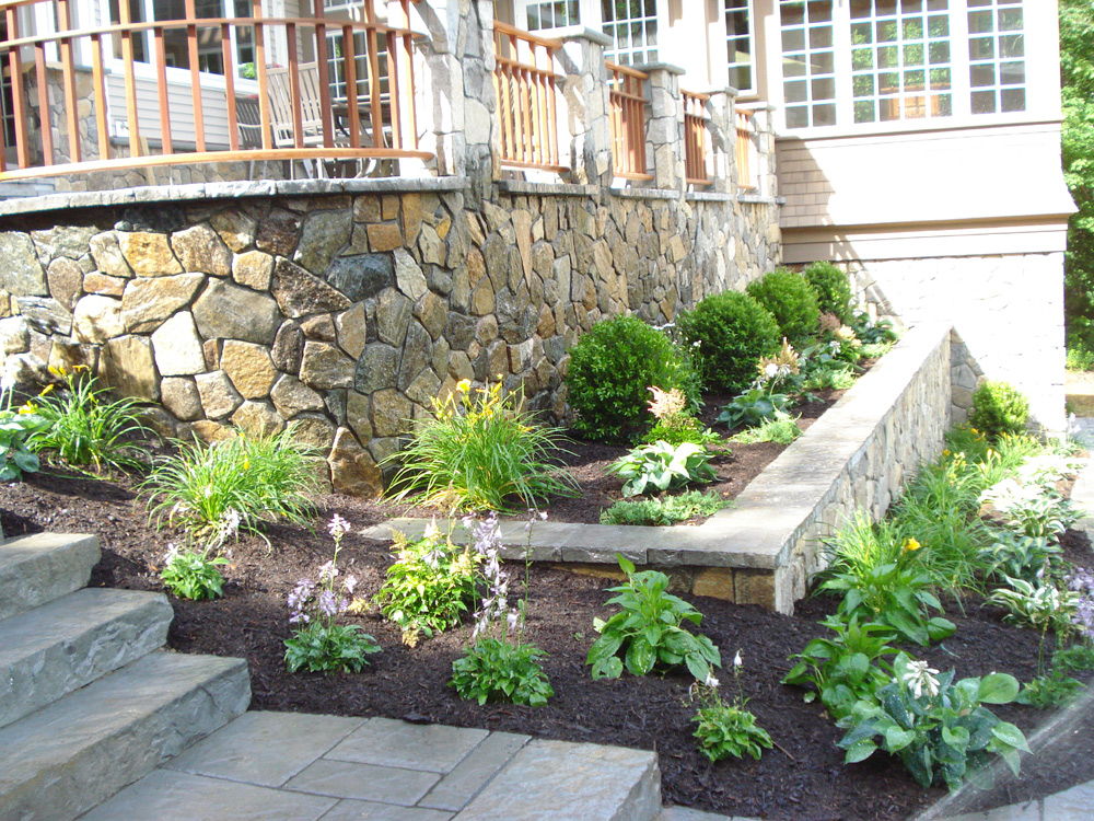 Residential Landscaping Ideas : Residential landscape design simple by nature